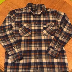 Men's Brixton flannel (Large)